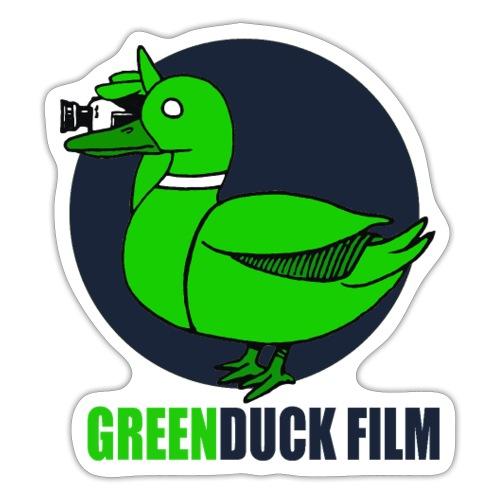 Greenduck Film Dark Blue Logo - Sticker