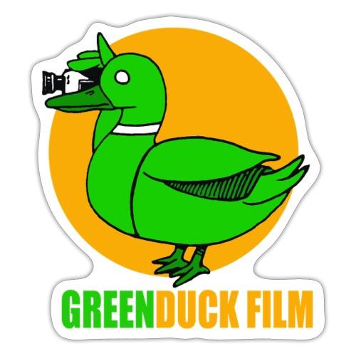 Greenduck Film Golden Sun Logo - Sticker