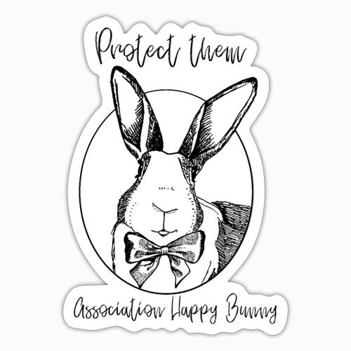 Happy Bunny Fundraiser - Sticker