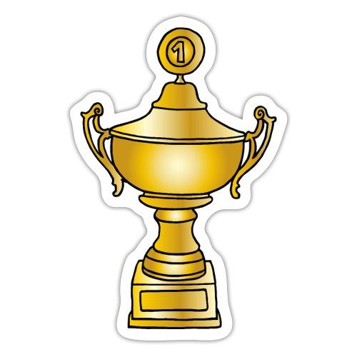 Gold Pokal - Sticker