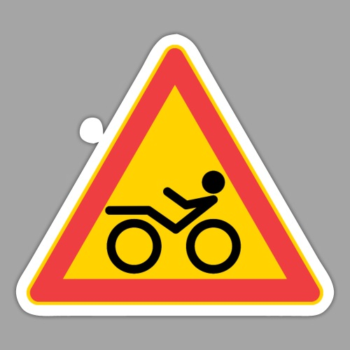 Traffic sign Recumbent - Tarra