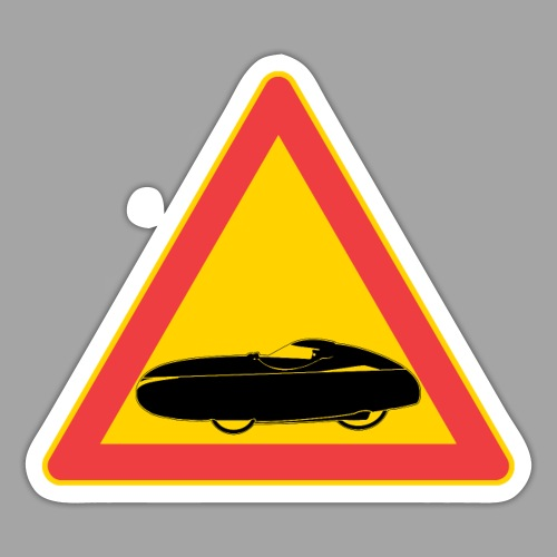 Traffic sign velomobile - Tarra