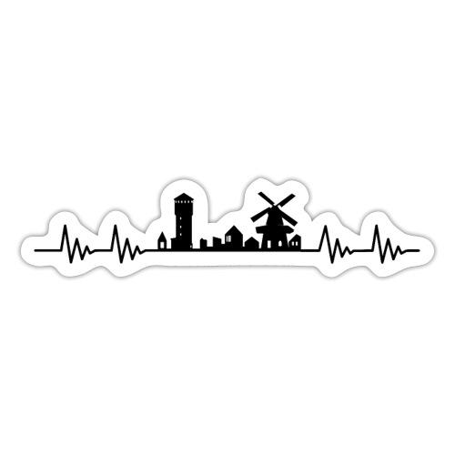 Mit hjert de slæ for Hæwe - Sticker