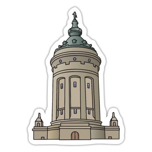 Wasserturm Mannheim c - Sticker