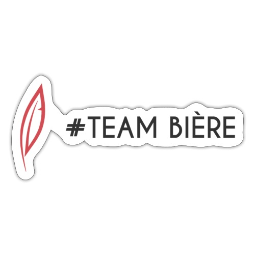 Logo - Team bière - Autocollant