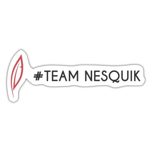 Logo - Team Nesquik - Autocollant