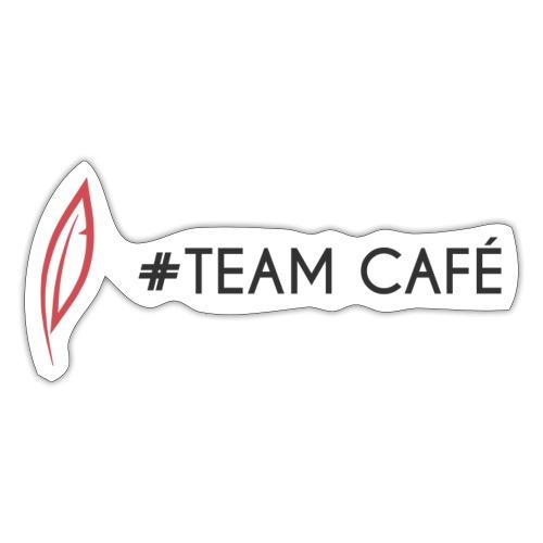 Logo - Team café - Autocollant