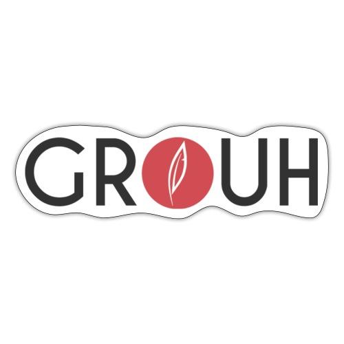 Citation - Grouh - Autocollant