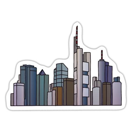Frankfurt Skyline c - Sticker