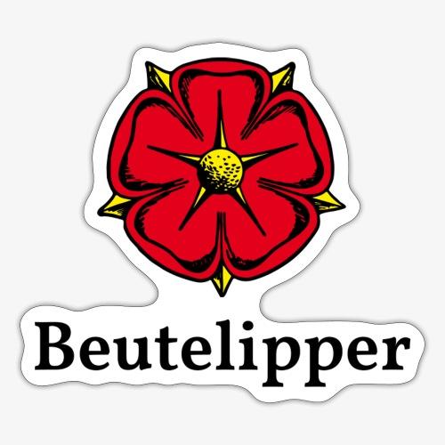 Beutelipper - Lippische Rose - Sticker