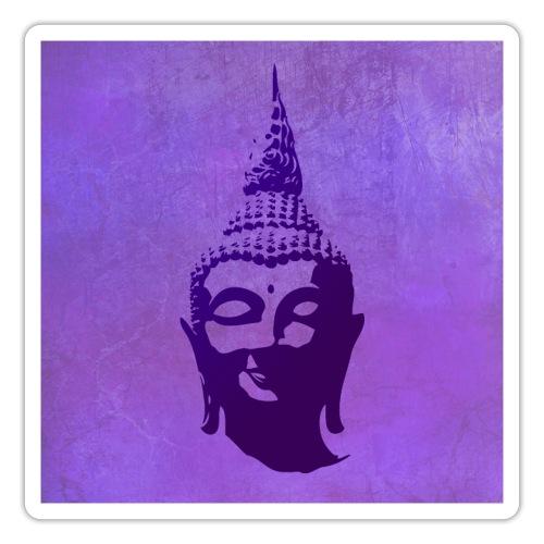 Boeddha hoofd - Sticker