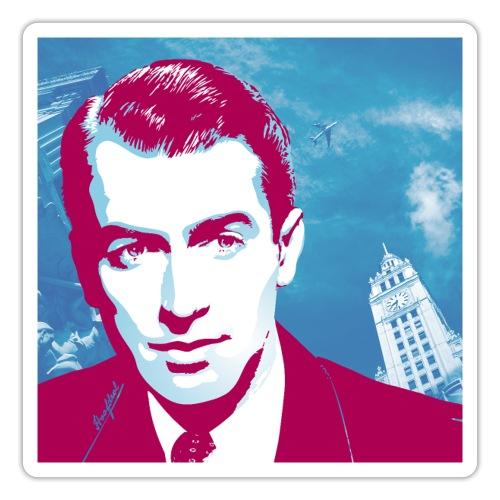 James Stewart Chicago - Sticker