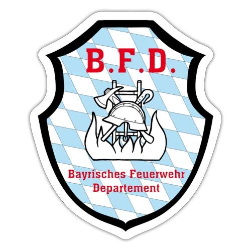 Inoffizielles bayrisches Feuerwehrabzeichen - Sticker