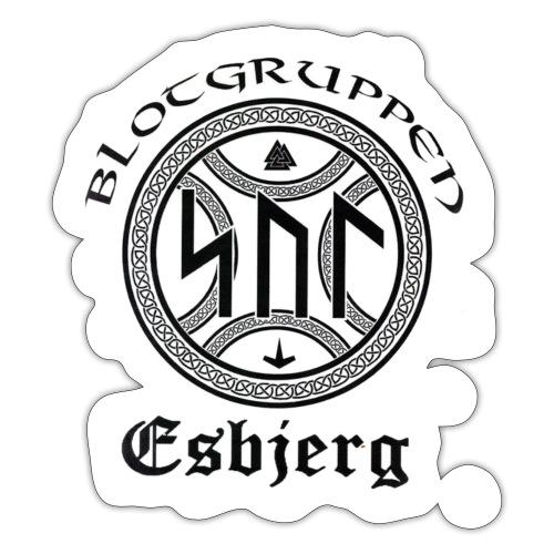 Asatro Blòtgruppen Sol Esbjerg - Sticker