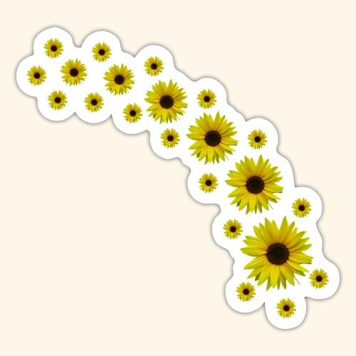 Sonnenblumen, Sonnenblume, Blumen - Sticker