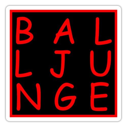 Balljunge - Sticker