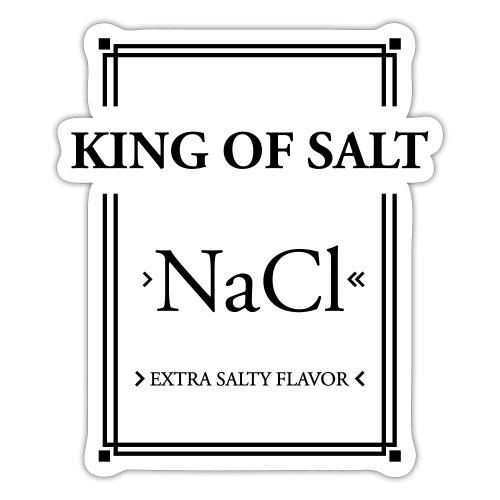 King of Salt - Sticker