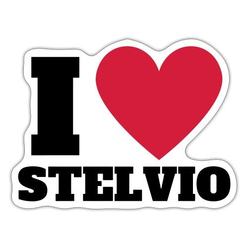 Ich liebe Stelvio - Sticker