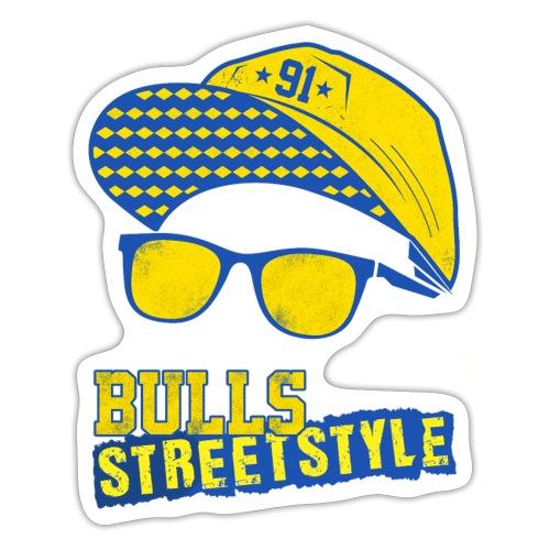 Bulls Streetstyle Yellow - Sticker