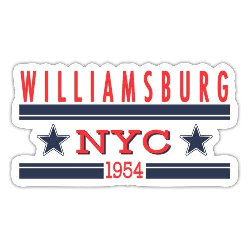 Williamsburg Hipster - Sticker