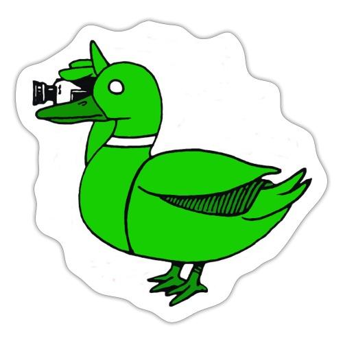 Greenduck Film Just Duck - Sticker