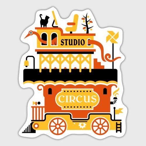 Studio Circus - Autocollant