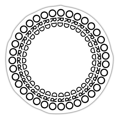 ORD I RING - Klistermärke