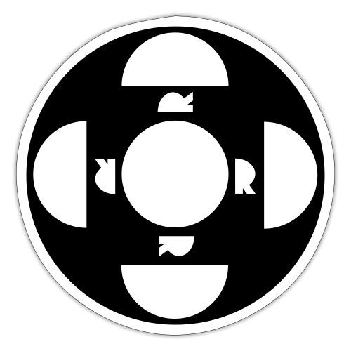 ORDTOMBOLA - Klistermärke