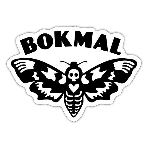 BOKMAL - Klistermärke