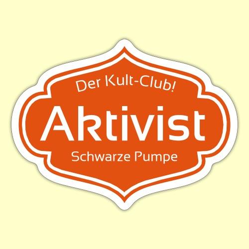 aktivistbadge - Sticker