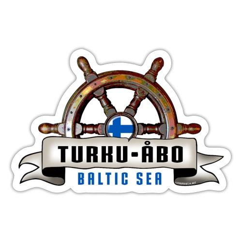 Turku Finland - Merelliset tekstiilit ja lahjat. - Tarra