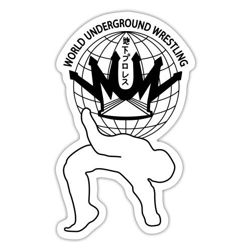 wuw suplex logo - Sticker