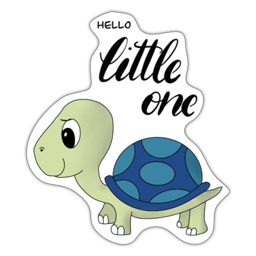 Little Turtle - Sticker