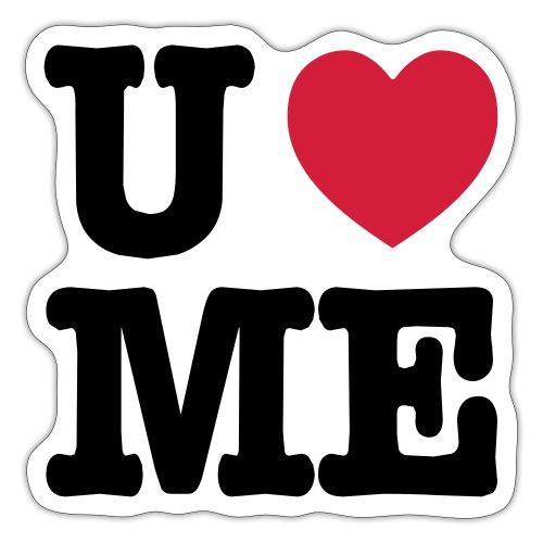 You love me - Sticker