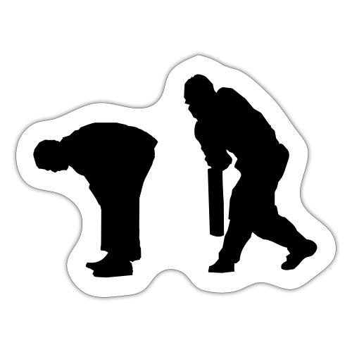 Cricket spank - Sticker