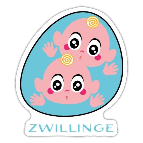 Tolles Geschenk für Zwillinge - Sticker