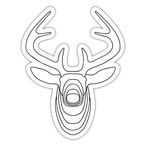 Oh deer - Sticker