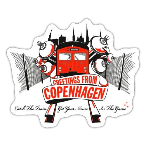 Greetings from Copenhagen √ - Sticker