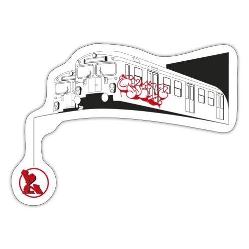 2wear Trains ver01 √ - Sticker