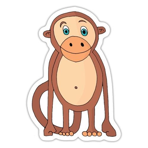 Bobo le singe - Autocollant