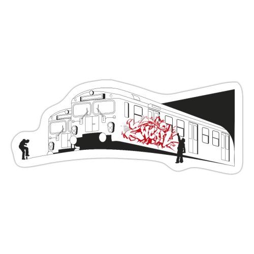 √ Graffiti Trains - Sticker