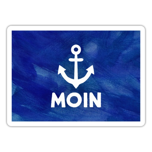 Mousepad Anker Moin - Sticker