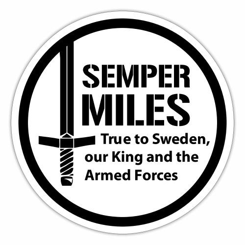 Semper Miles 01 Logo - Klistermärke