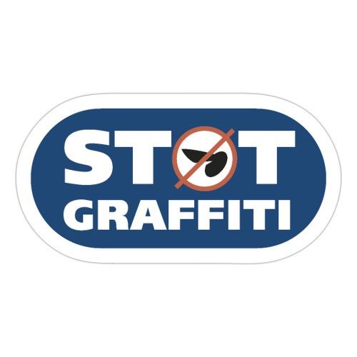 Støt Graffiti - Sticker