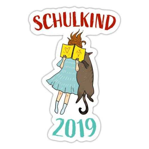 Schulkind 2019 | Einschulung und Schulanfang - Sticker