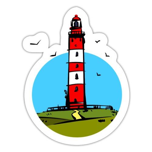 Leuchtturm Amrum Design - Sticker