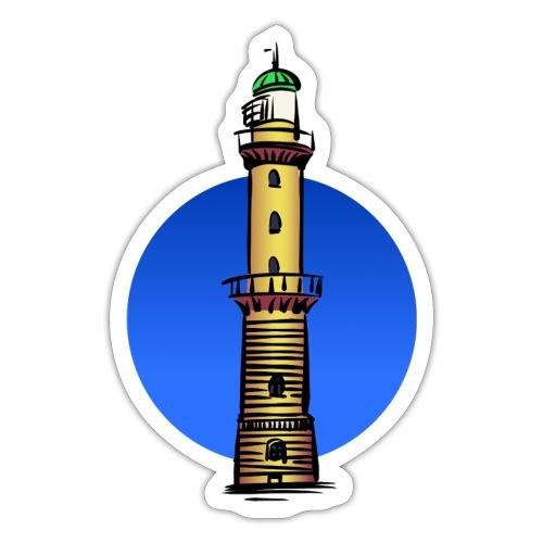 Leuchtturm Warnemünde - Sticker