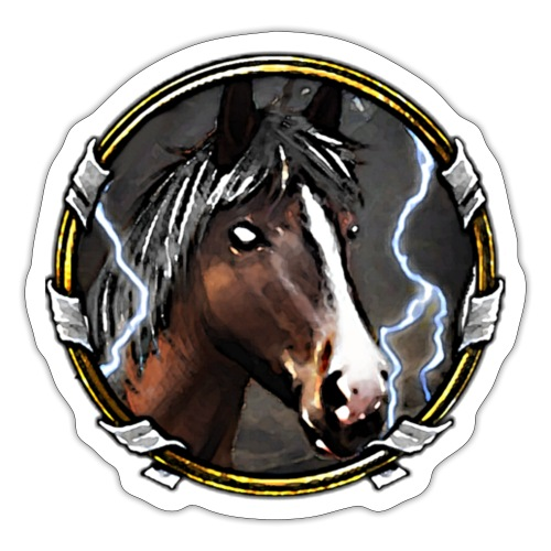 Immortal Glitterhoof - Sticker
