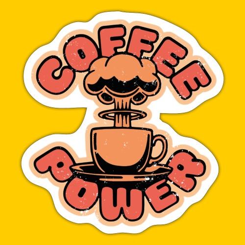 Coffee power - Klistermärke