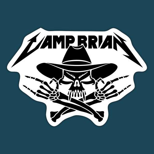 Camp Brian classico vector - Sticker